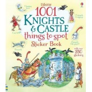 1001 Knights & Castles Things to Spot Sticker Book by Hazel Maskell