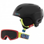 Giro - Kid's Launch Combo Pack - Skihelm Gr S schwarz