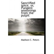 Sanctified Spice, Or, Pungent Seasonings from the Pulpit by Madison C Peters