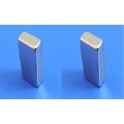 Neodymium N52 Grade Super Strong Magnet 20x12x6 mm Type Cuboid Set of 2