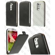 "LG G2 Mini D620 (калъф кожен - ""Genuine style"")"