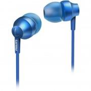 Casti Philips SHE3850 MyJam Chromz Blue