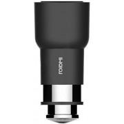 Incarcator Auto Xiaomi Roidmi 2s, 2 x USB, Fast Charge 3.8A, Bluetooth, FM, Microfon (Negru)