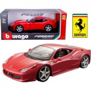Ferrari 458 Italia 1:24 rood