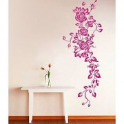 Wall Stickers Wall Decals Pink Rose Vine