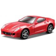2006 Ferrari 599 GTB Fiorano [Bburago 36100-13], Rojo, 1:43 Die Cast