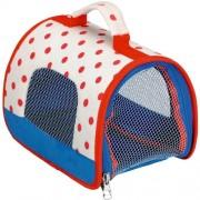 Funny Animal Parade peluche animali borsa da viaggio con Little coperta, 17 x 17 x 25 cm, modello # 10792