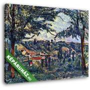 Paul Cézanne: Chateau Noir (30x25 cm, Vászonkép )