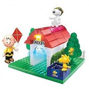 Cra-Z-Art Lite Brix The Peanuts Movie Flying Ace Snoopy Building Set