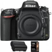 Aparat Foto DSLR Nikon D750 Body +card 128Gb + baterie EN-EL15a