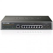 TP-LINK TL-SG3210 JetStream™ 8-port Gigabit L2 Managed Switch, 8x 10/100/1000M RJ45 ports + 2x Gigabit SFP sloty