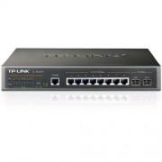 TP-Link TL-SG3210 JetStream™ 8-port Gigabit L2 Managed Switch, 8x 10/100/1000M RJ45 ports + 2x Gigabit SFP sloty