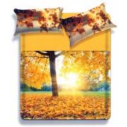 Completo lenzuola Biancaluna stampa digitale Matrimoniale art. Fexie L338