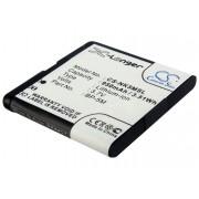 Nokia 7390 / BP-5M 950mAh 3.52Wh Li-Ion 3.7V (Cameron Sino)
