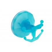 Gimi Bingo műanyag tapadókorongos törölköző akasztó - kék