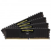 Memorie Corsair Vengeance LPX Black 32GB DDR4 2666 MHz CL15 Quad Channel Kit
