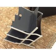 Ycami Ycami Portariviste Alluminio Legno