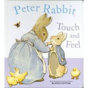 Peter Rabbit Touch and Feel Book by Beatrix Potter