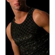 QZ Bodywear Fashion Velvet Vest Lattice 205-46-466-33