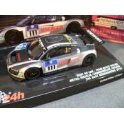 Minichamps - 437101911 - Véhicule Miniature - Audi R8 LMS Black Falcon 24 Heures du Nürburging 2010 - Echelle 1:43
