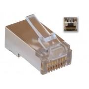 Noname FTP RJ45 csatlakozó dugó 100db/cs