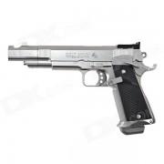 Genuino Tokio Marui centimetro maestro primavera pistola (HG? Hop Up) - negro + plata
