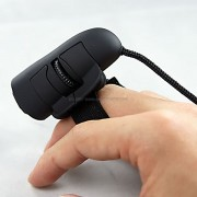 Cool Ring-Style punta de los dedos USB Optical Mouse
