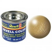 Revell Enamels 14ml Gold Metallic Paint by REVELL ENAMELS