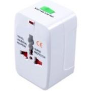 iStore Universal Multi Plug Travel Charger Worldwide Adaptor(White)