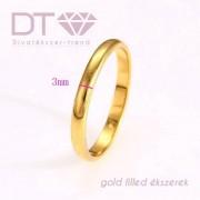 Slim Fashion (24K) karikagyűrű