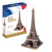 """Rompecabezas 3D de la CubicFun """"La Torre Eiffel - París"""""""