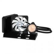 ARCTIC Accelero Hybrid II-120 - Dissipatore di calore ad acqua multicompatibile con radiatore posteriore per un migliore raffreddamento della memoria RAM e del trasformatore di tensione - Dissipatore di calore a liquido per AMD R9 290, R9 290X e modelli s