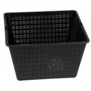 Hozelock Plastic Black Pond Planting Basket (H)140mm