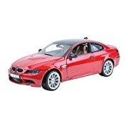 "Motormax GOTZMM73182RD 1:18 Scale Red ""BMW M3"" Die Cast Model Car"
