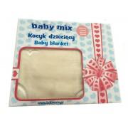 Patura copii Baby Mix TG 6159 Beige