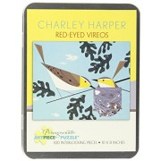 Charley Harper - Red -eyed Vireos: 100 Piece Puzzle