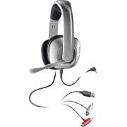 Casti cu microfon Plantronics GameCOM X40 pentru XBOX 360, PC headset - Silver