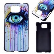 Samsung Galaxy Alpha G850F PC Funda Protector Carcasa (Bleeding Eye)