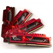 Memorie G.Skill RipJawsX 16GB (4x4GB) DDR3 PC3-12800 CL9 1.5V 1600MHz Intel Z97 Ready Dual/Quad Channel Kit, F3-12800CL9Q-16GBXL