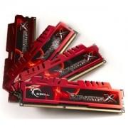 Memorie G.Skill RipJawsX 16GB (4x4GB) DDR3 PC3-12800 CL9 1.5V 1600MHz Intel Z97 Ready Dual/Quad Channel Kit, F3-12800CL9Q-16GBXL
