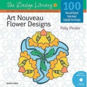 Art Nouveau Flower Designs by Polly Pinder