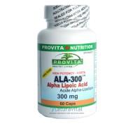 Acid Alfa Lipoic Forte 300 mg 60 capsule