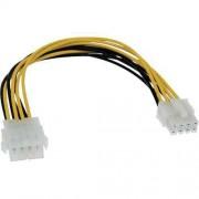 Inline 26631 Cable alargador 8 pines 12V Placa Madre 20cm