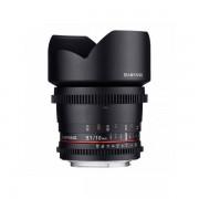 Obiectiv Samyang 10mm T3.1 VDSLR montura Micro Four Thirds
