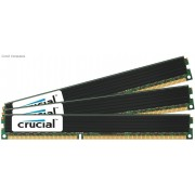 Crucial 24GB(3x8GB) DDR3L 1600MHz VLP Registered ECC DIMM PC3-12800 CL11 1.35V Server Memory Module