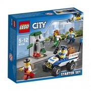 Lego City 60136 - Set Costruzioni Starter Set della Polizia