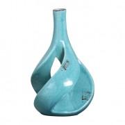 Vaso Vazado II Azul Turquesa Buzzios