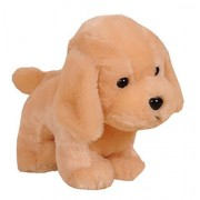 Cute Dog Plush Puppy Animal Toy Stuffed Animals Plush Toy, Beige