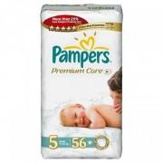 Scutece Pampers Premium Care 5 Junior Jumbo Pack 56 buc