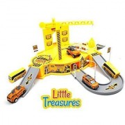 Construct Base Engineering - features a brilliant construction site model - for little boys and girls providing them wit